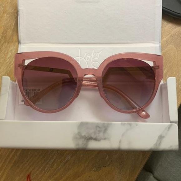 Diff Eyewear Accessories - Pink diff sunglasses